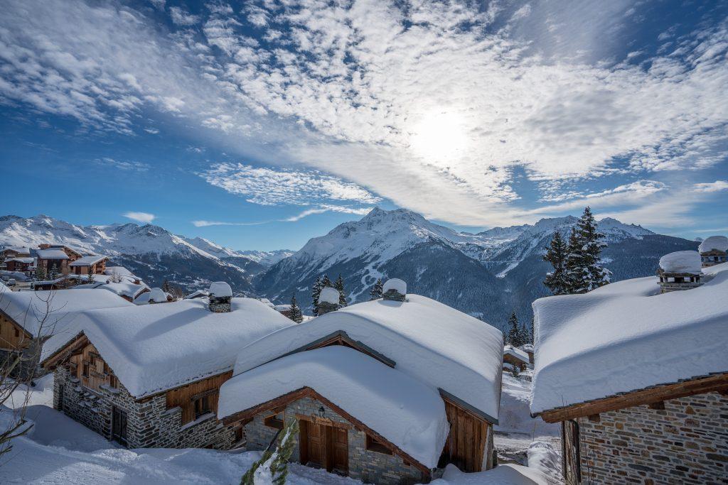 Façade nord, vue Mt Pourri / Les Arcs