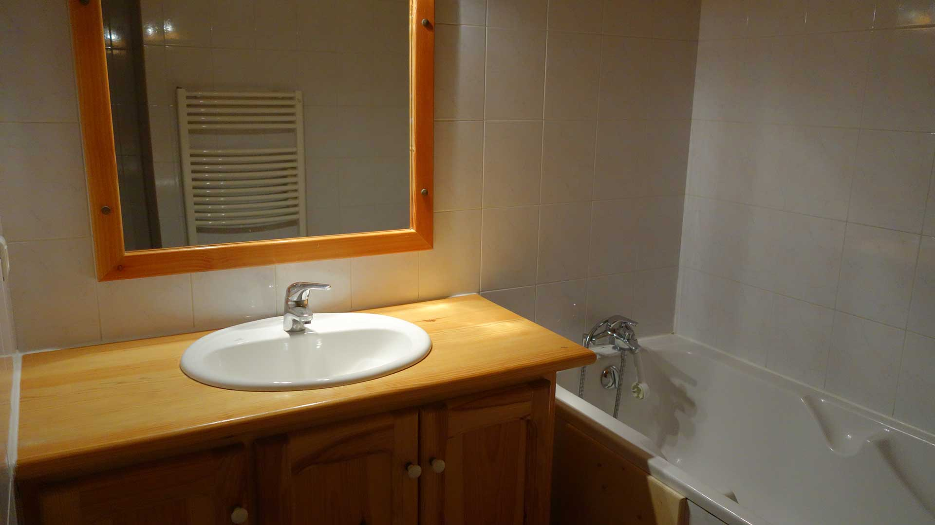 Marmotte - Salle de bain, 1er étage
