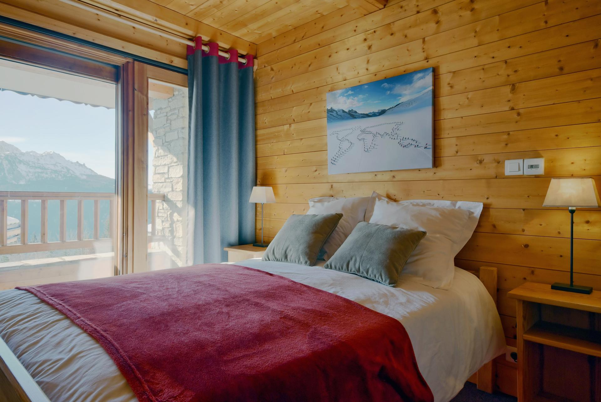 Chalet L'Esquirol - Marmotte - Chambre Piste Rouge