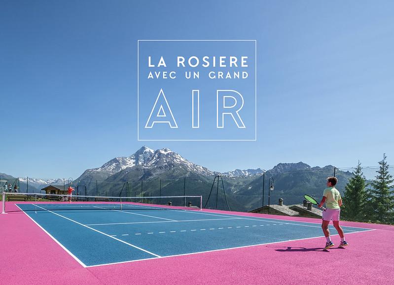 La Rosière été - Tennis